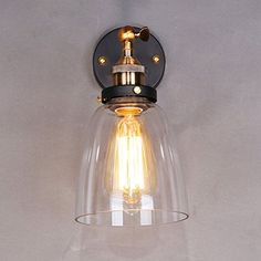 Industrial Vintage wall light copper glass hanging lamp adjustable wall lamp for home decoration -Lampara colgante Outdoor Wall Lighting, Wall Sconce Lighting, Wall Sconces, Bedside Wall Lights, Glass Wall Lights, Wall Lamps, Vintage Wall Lights, Vintage Walls, Layout Design