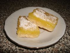 Make and share this Lemon Bars recipe from Food.com.