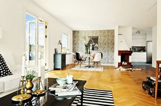 Chic Apartment in Sweden