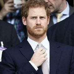 Prince Harry attended the Rugby Match England VS Scotland on March 11th 2017