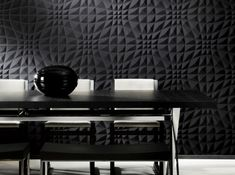 Eclipse - Designer Wall papers by Arte ✓ Comprehensive product & design information ✓ Catalogs ➜ Get inspired now Wallpaper Online, Home Wallpaper, Arte Wallcovering, Black And White Wallpaper, Black White, Decorative Panels, Deco Design, Modern Wall, Art Nouveau