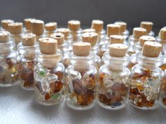 Small Vials of Authentic Hawaiian Sea Glass- Great for Weddings, Parties, or Decorations.. $5.20, via Etsy.