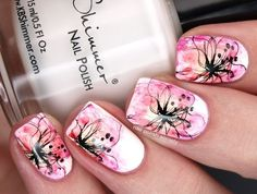40 Great Nail Art Ideas: Spring | Nail Polish Society
