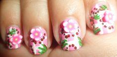 Baby Pink Nail Art