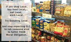Donate Local For real Change.