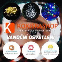 Navštivte kategorii Vánoční osvětlení na Kokiskashop.cz a pořiďte osvětlení pro dokonalou vánoční atmosféru za skvělé ceny. Vybírat můžete z více než 150 různých produktů - teple bílé, studeně bílé, barevné, světelné řetězy, světelné deště, kabely, diLED systém, dekorace, na baterie i do sítě...