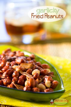 Garlic Fried Peanuts (Adobong Mani) @Wok with Ray