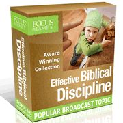 Focus on the Family presents this collection of broadcasts on effective principles for disciplining children. Whether you're struggling to tame a strong-willed child or simply learning the parenting ropes, you'll find helpful advice and insight to help you on your journey.