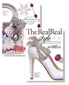 """""""Holiday Sparkle With The RealReal: Contest Entry"""" by jennifer ❤ liked on Polyvore featuring Christian Dior, Anzie, Mikimoto and Van Cleef & Arpels"""