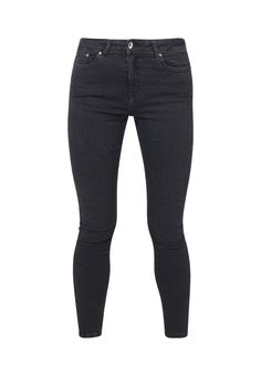 25ad902c52 JANE // Organic Super Skinny High Waist Jeans in Dark Grey Eco Wash