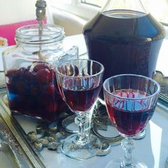 Vişne Likörü- Cherry Liqueur
