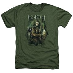 """Checkout our #LicensedGear products FREE SHIPPING + 10% OFF Coupon Code """"Official"""" Hobbit / Thorin And Company-adult Heather-military Green-sm - Hobbit / Thorin And Company-adult Heather-military Green-sm - Price: $34.99. Buy now at https://officiallylicensedgear.com/hobbit-thorin-and-company-adult-heather-military-green-sm"""