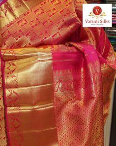Exclusive Kanjeevaram Pattu saree collection from Varuni Silks @varunisilks