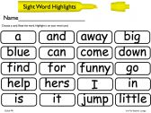 sight word game!