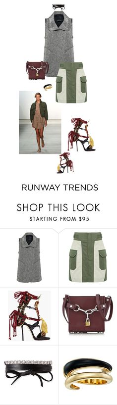"""NYFW 1"" by fanfan-zheng ❤ liked on Polyvore featuring Marissa Webb, Dsquared2, Alexander Wang, Fallon and Michael Kors"