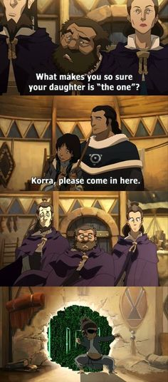 "Korra is ""The One"""