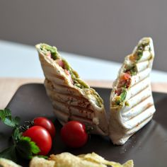Guacamole Chicken Wrap-Flavorful Guacamole Recipes