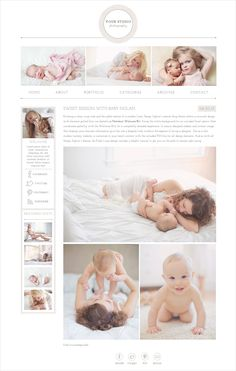 Evoking a clean, crisp vibe and the subtle texture of a modern linen, Design Aglows newest blog theme softens a minimal design with elements pulled from our bestselling Newborn Welcome Kit. Swap t... more on http://html5themes.org