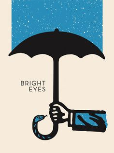 Bright Eyes concert poster