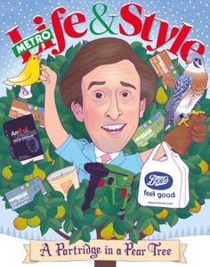 Struggling with what to buy that special person in your life? Writing exclusively for Metro, Alan Partridge saves the day. Alan Partridge, Save The Day, Special Person, Xmas, Feel Good, Feelings, Illustration, Magazines, Navidad