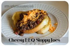 New spin on Sloppy Joe's!