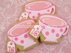 Love these for a sweet 16 party!!