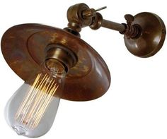 Hat Wall Light by Alexander and Pearl