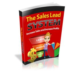 The Sales Lead System.Discover the secrets to getting more leads and have a massive boost in your business!
