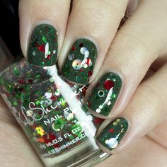 From now until December 13, $4 from each bottle of KBShimmer's Kringle All The Way polish sold will be used to buy Christmas presents for Toys For Tots!