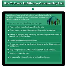 Launch your #crowdfunding Campaign in an effective way!