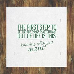 The first step to life