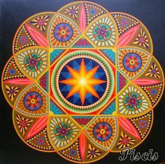 Mandala de Piscis