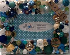 RESERVED for Connie  Custom Maui Button by allbuttonedupbytina, $40.00