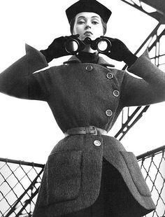 Christian Dior, 1950. Haper´s Bazaar