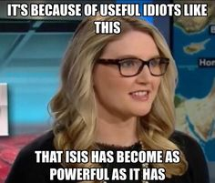 Idiot Marie Harf: ISIS couldn't even have predicted how powerful ISIS would become #tcot http://hotair.com/archives/2014/09/29/states-marie-harf-isis-couldnt-even-have-predicted-how-powerful-isis-would-become/ …
