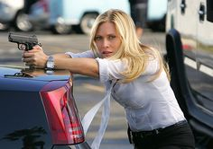 Calleigh Duquesne (Emily Procter) in CSI: Miami