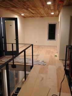Plywood Flooring (1)- I like it but needs to be stained. This would maybe be a cheap alternative for the loft areas- much less traffic so it should hold up.