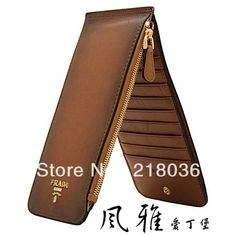Wholesale Men And women Wallet Card Pack Hand Bag Zipper Slim Multi card Bit long Section Genuine Leather Wallet DIY Making T192-inWallets from Luggage & Bags on Aliexpress.com | Alibaba Group