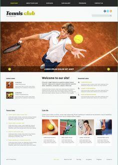 Afbeeldingsresultaat voor tennis club template