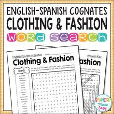 1000 Ideas About Spanish Cognates On Pinterest Cognates Spanish And Spanish English