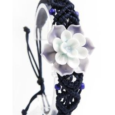 The ink blue-and-white, elegant, the porcelain flower bracelet which is as white as jade wearing on the wrist, shows your hand as tender as catkin, skin as white as cream, it would virtually improve a person's temperament. The combination of elegant blue and white porcelain and rose is the best choice for sending to lover, it represents the pure, eternal and unique loyalty.