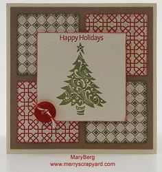Merry Scrapyard | Mary Berg  Close To My Heart Independent Consultant