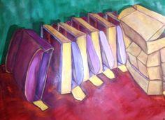Cajas de cartón Oil on canvas 116 x 81 cm