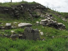 Remains of the Munkerhoose Settlement, Papa Westray, Orkney, Scotland (J. Demetrescu 2010)