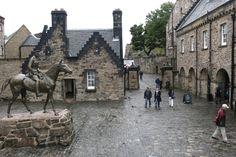 Courtyard in Edinburgh Castle