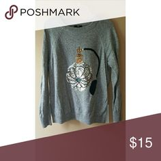 Grey Sweater Excellent Used Condition. Worn only a couple times. I do discounted bundles. H&M Sweaters Crew & Scoop Necks