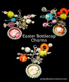 Easter Bottle Cap Ch