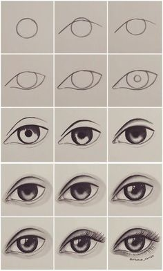 Step by step eye tutorial eyetutorial tutorial eye drawing otherpwHow to draw an eye~ This was done with alcohol markers, but could really be done with any material.Eye Tutorial by Drawing Tutorial for Occasional ArtistsPaigeeWorld is a community for Easy Drawing Tutorial, Eye Drawing Tutorials, Easy Drawing Steps, Eye Tutorial, Drawing Tips, Art Tutorials, Drawing Sketches, Drawing Drawing, Eye Sketch