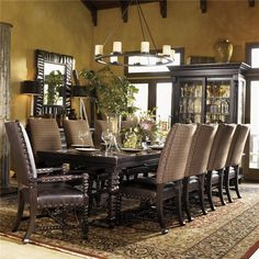 Kingstown Pembroke Rectangular Dining Table by Tommy Bahama Home