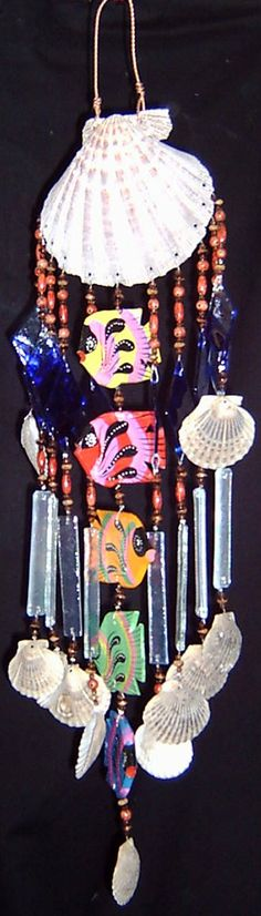 seashell heaven wind chimes